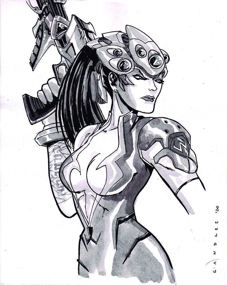 Widowmaker (20 x25,5) - usd 100