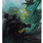Batman vs joker - watercolors A3 -  usd 100