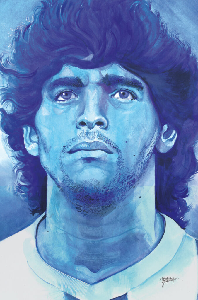 Cover Maradona (24.8 x 35cm) - usd 270