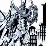 Azrael Batman A4 - usd 60