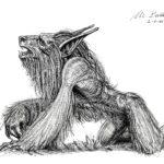 Hombre Lobo - A4 - usd 75
