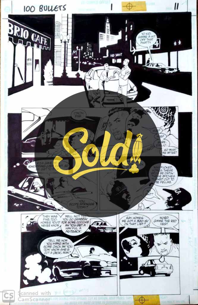 issue 1, page 11 - sold