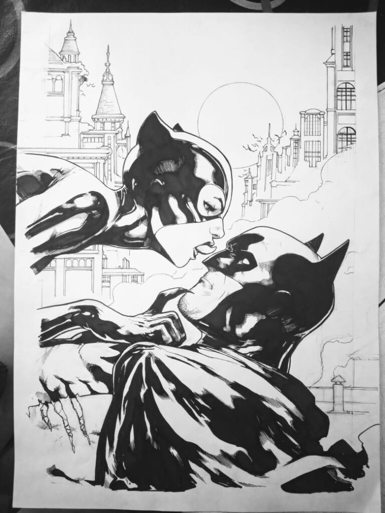 "Commission ""batman and catwoman\"""