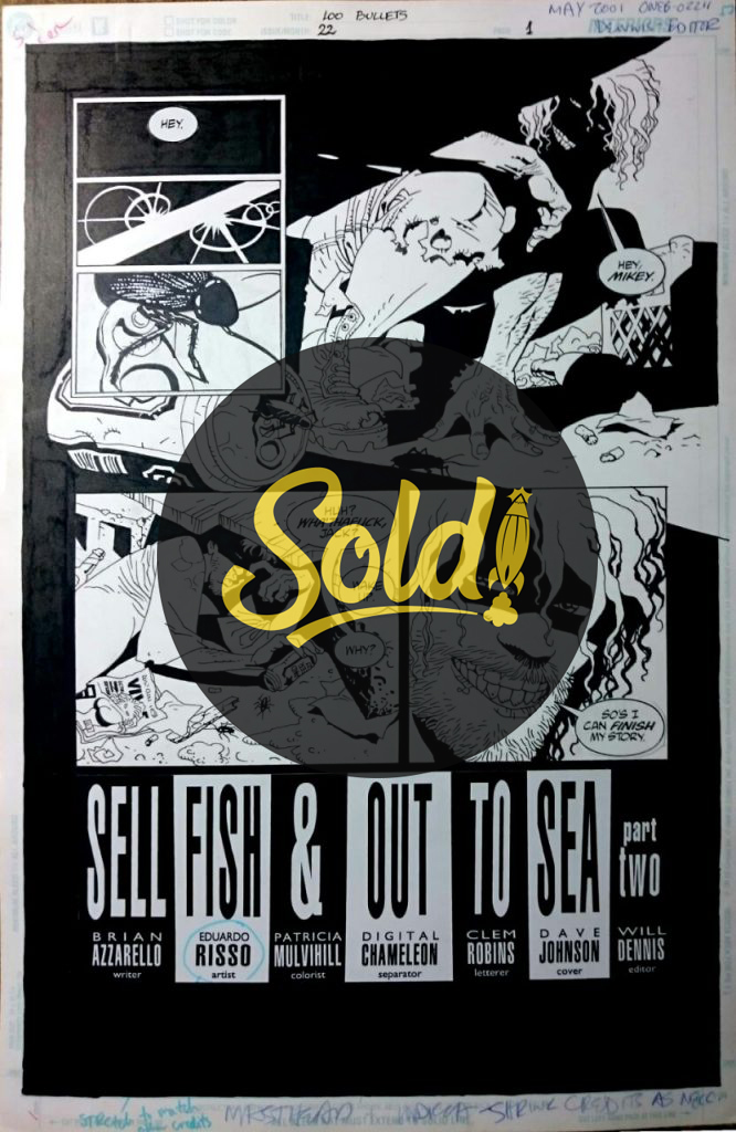 issue 22, page 1 - sold
