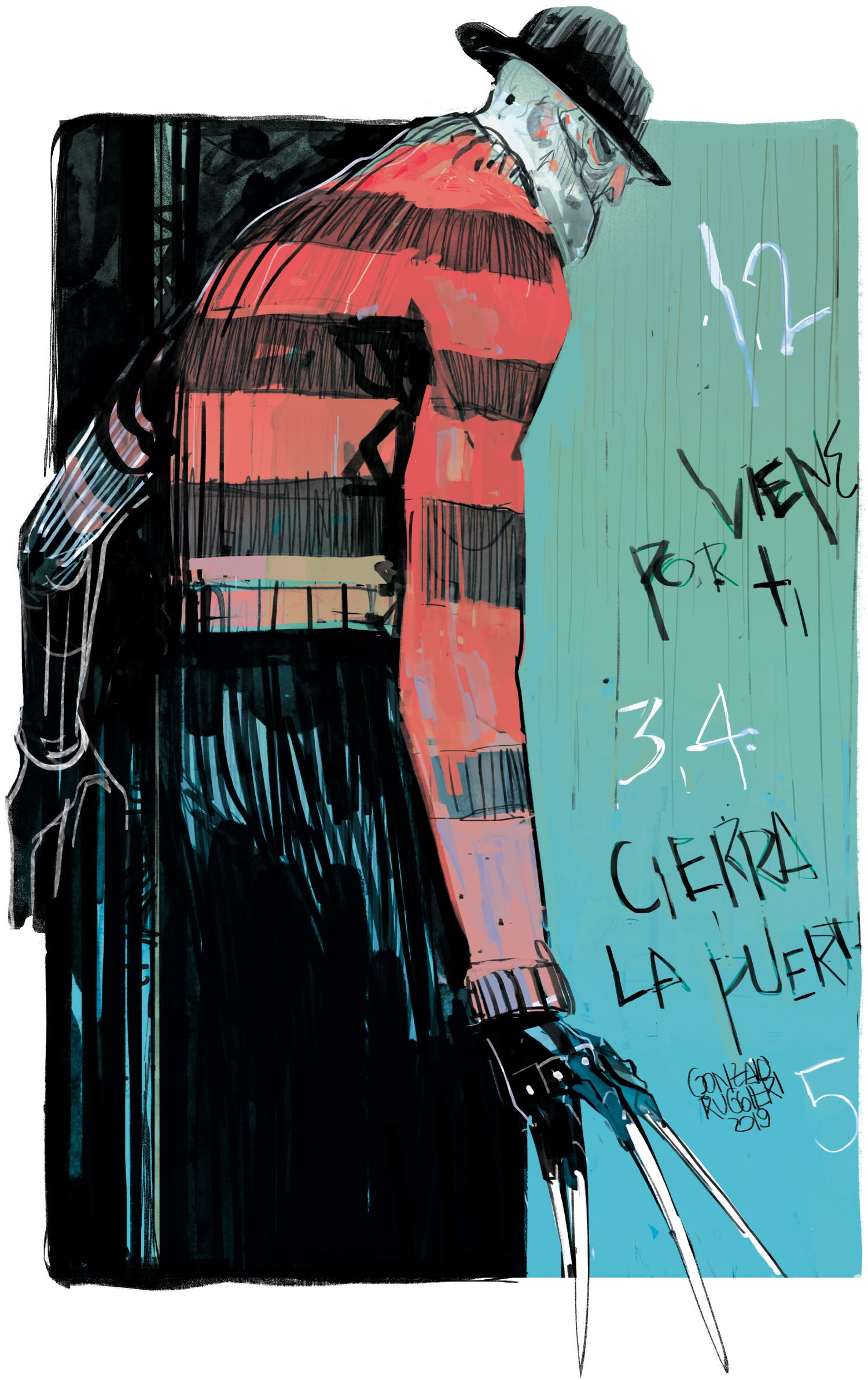 Freddy (Print) - A3 - ARS 300