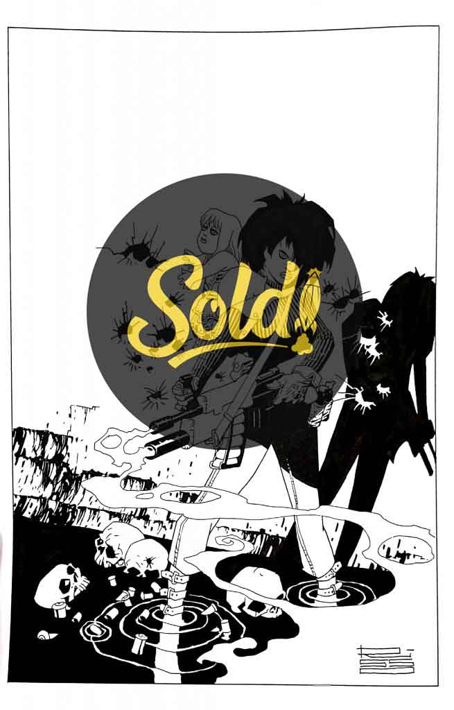 Cover Borderline - sold