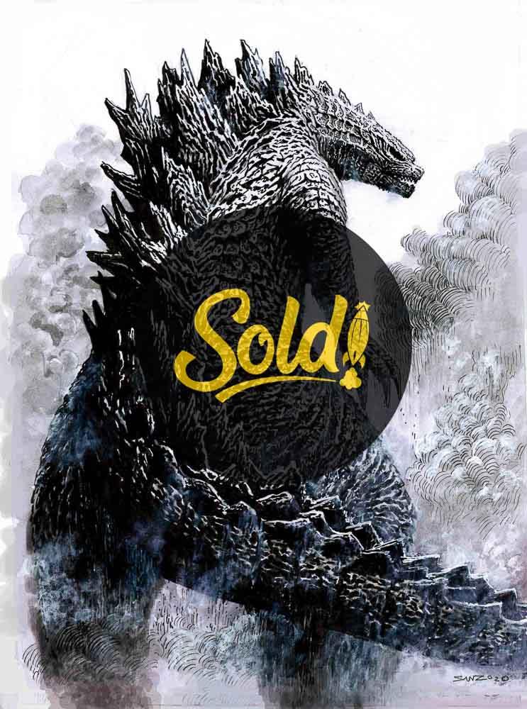 Godzilla - sold