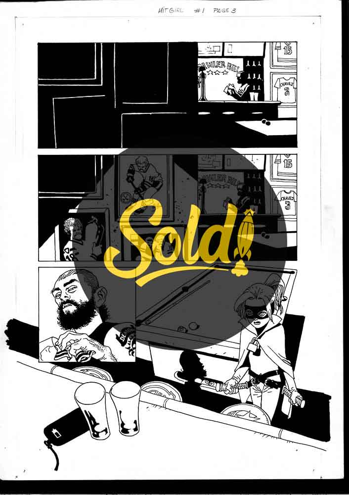 issue 1, page 3 - sold