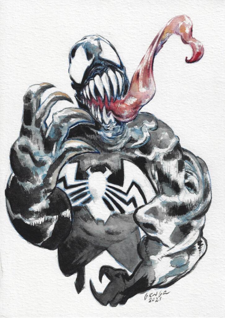 Venom - A4 - usd 85