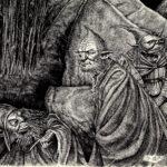 Goblins - 47cm x 32 - usd 100
