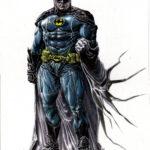 Batman - 35x25 - gouache - usd 90
