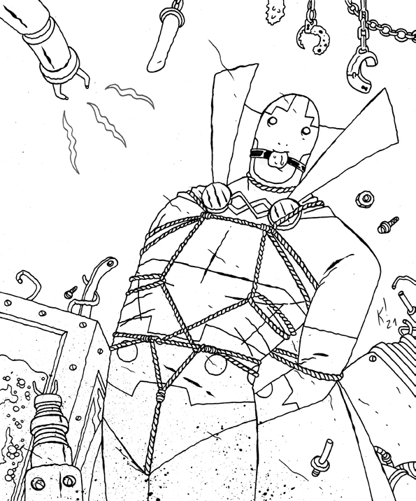 mister miracle super scape artist - A4 - usd 85