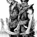 Illustration Solomon Kane 2 - A3 - usd 300